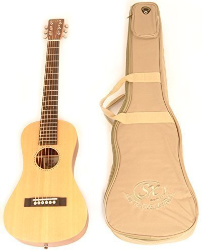 2. SX Trav 1 Traveling Guitar Portable with Bag