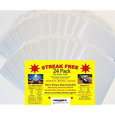 "Streak Free Microfiber Cloth""As Seen on TV"" 