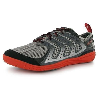 Merrell Men Bare Access Mens Barefoot Running Shoes Smoke Red UK 8.5