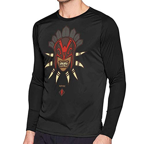 sport outdoor 003 Mens Vintage Dota Bloodseeker Long Sleeve Raglan Baseball T Shirt Black -