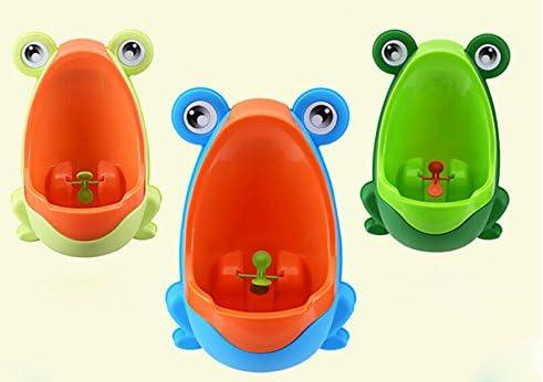Scrox Children Training Urinal Frog Urinal Boys Children Toddlers Potty Training for Boys Orange