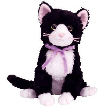 TY Beanie Baby - FUSSY the Cat
