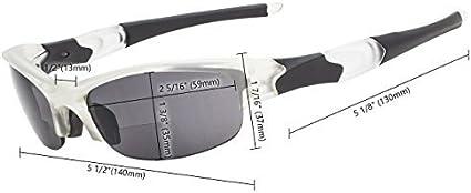 Eyekepper TR90 Unbreakable Half-Rim Sports Bifocal Reading Sunglasses