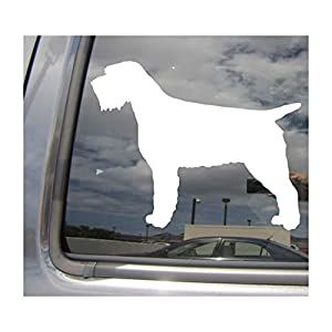 - Wirehaired Pointing Griffon Dog - Korthals d'arrêt à poil dur Korthal Pure Breed Purebred - Cars Trucks Moped Helmet Hard Hat Auto Automotive Craft Laptop Vinyl Decal Store Window Wall Sticker 01697 11