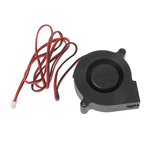 Sarora 12V DC Projector Brushless Blower Cooling Fan - Ball Bearing High Speed Centrifugal Fan for Small Appliances Series Repair Replacement