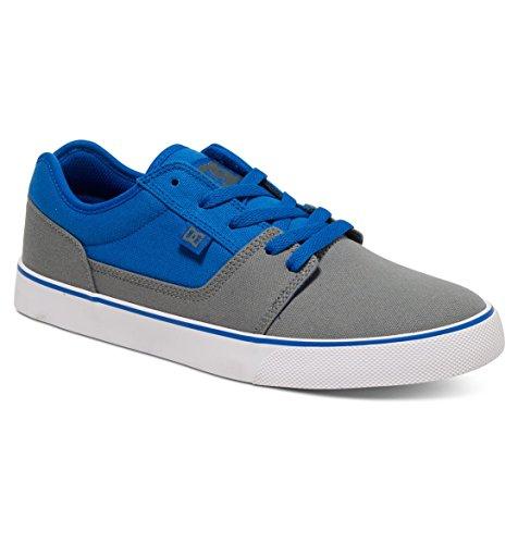 DC Shoes Tonik Tx M, Zapatillas de Skateboarding para Hombre Gris (Grey / Blue / White)