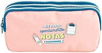 Mr. Wonderful Estojo triplo-Kit para apontamentos, Notas e, Multicolor, Talla única: Amazon.es: Hogar