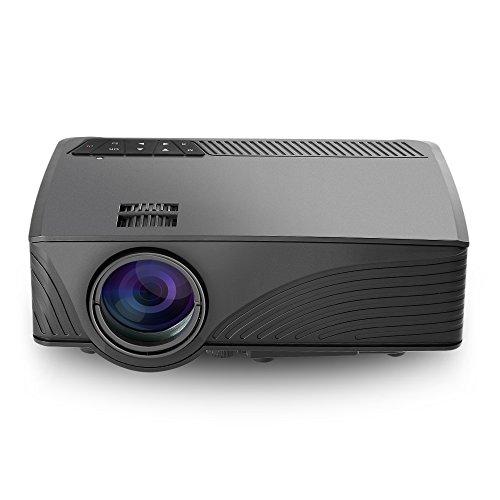 2000 Lumens Full Hd 1080p Led Lcd 3d Vga Hdmi Tv Home: Mini Projector, GBTIGER 2000 Lumens LED Projector Full HD