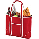 Picnic at Ascot  Extra Large Insulated Cooler Bag - 30 Can Tote - Red