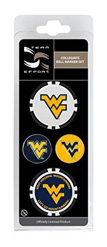Team Effort West Virginia Mountaineers Ball Marker Set