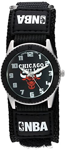 Game Time Unisex NBA-ROB-CHI ''Rookie Black'' Watch - Chicago Bulls by Game Time