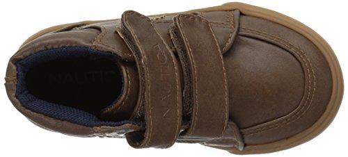 Nautica Boys' RIG Sneaker, Tan, 9 M US Toddler