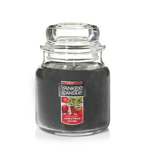 Yankee Candle Medium Jar Candle, Christmas Thyme