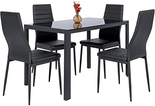 picture of Best Choice Products 5-Piece Kitchen Dining Table Set w