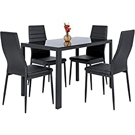Best Choice Products 5 Piece Kitchen Dining Table ...