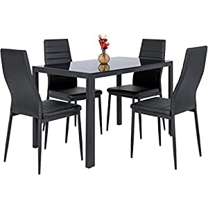 Amazon.com - Best Choice Products 5 Piece Kitchen Dining Table Set W ...