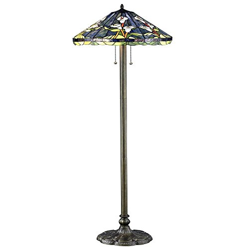 Price comparison product image Tiffany Style Calla Lilly Floor Lamp