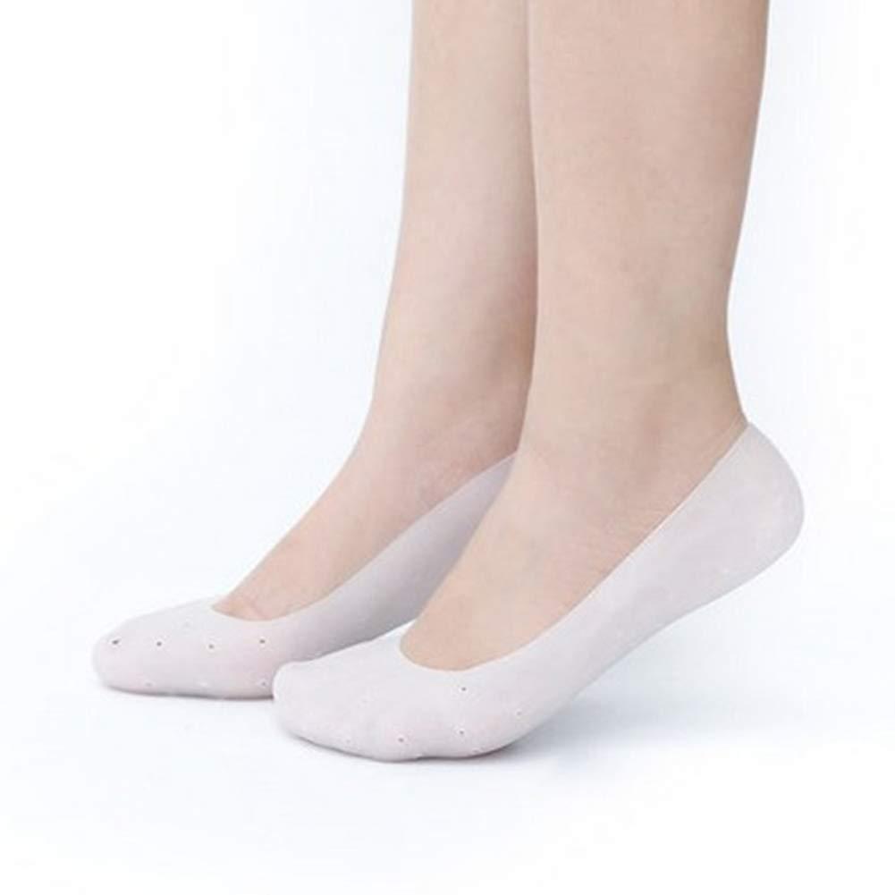 Yevison Silicone Foot Anti-cracking Sock Gel Moisturizing Sock Heel Silicone Foot Sleeve by Yevison