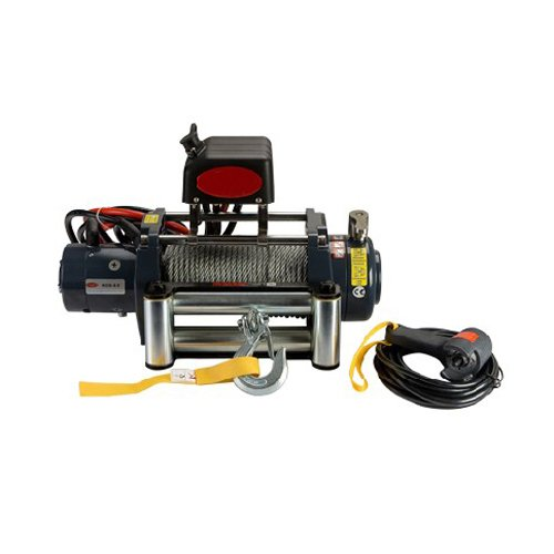 Wotefusi Car Truck ATV New Universal Heavy Duty KDS-9.0 9000lb Pound 4083kgs Recovery Electric Winch 12V Steel Cable Rope Towing Tow Set Kit (9000 Lb Electric Winch)