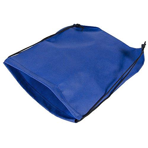 Westco Drawstring Backpack Bag (13x16.5in; Blue)