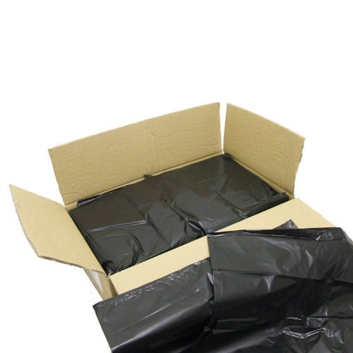 Medium Duty Black Refuse Sacks/Bin Bags/Bin Liners(200Pack) Ideal 365