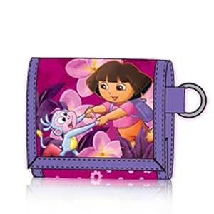 GF Toys 2093DFF  - Cartera Velcro Dora