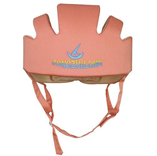 Kingken Sicherheit verstellbar Baby Helm Baby Kleinkinder Kopf Displayschutzfolie Helm orange