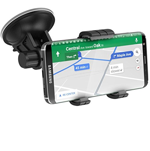 Price comparison product image Samsung Galaxy S8 Plus Car Mount Holder - Windshield / Dashboard Compatible (Samsung S8+) (By Encased)