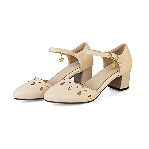 Sandales Femme Compensées Blanc Cassé BalaMasa qEgd8qfn