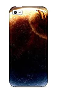Brooke C. Hayes's Shop 6871298K37921421 New Iphone 5c Case Cover Casing(earth Space Hit) WANGJING JINDA