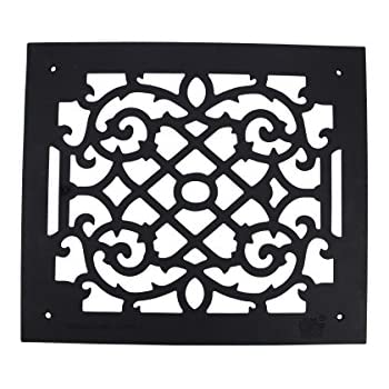 Heat Air Grille Cast Victorian Overall 14 X 16   Renovator's Supply