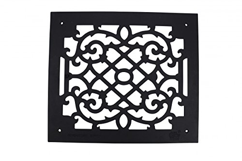 Heat Air Grille Cast Victorian Overall 14 X 16 | Renovato...