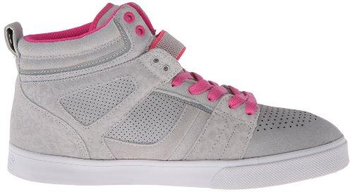 Scarpe da Raider Grey Grey Grigio L Pink Donna Skateboard Osiris HwEaH