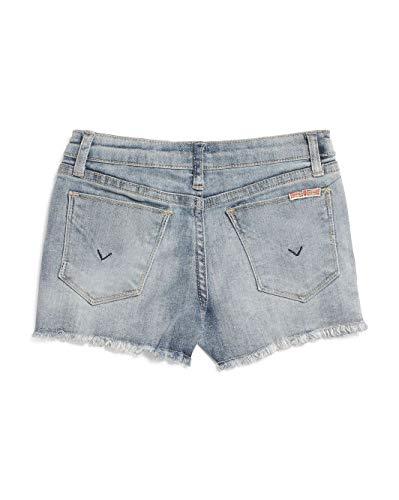 HUDSON Little Girls Embroidered Denim Jean Shorts