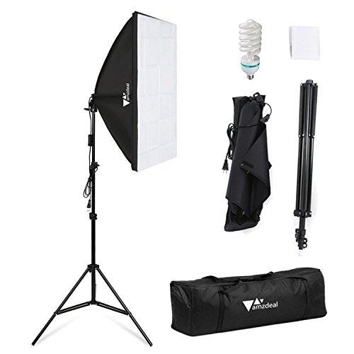 Amzdeal Softbox Lighting Kit Photography Studio Lighting Kit
