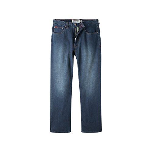 (Mountain Khakis Men's 307 Jean Classic Fit, Medium Wash, 38W x 30L)