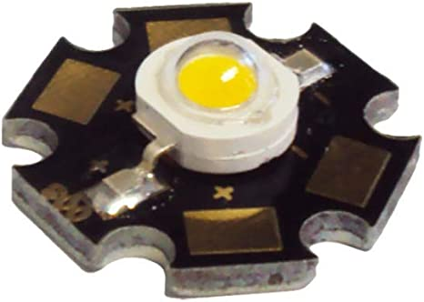 50pcs 3W Warm White 3000-3500K  High Power LED Light Emitter Bead chip diode