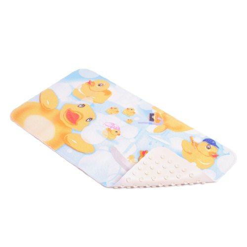 Con-Tact Brand Printed Rubber Bath Mat, Rubber Duckies, 30