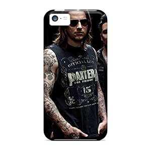 CristinaKlengenberg Iphone 5c Comfortable Phone Hard Cover Unique Design Lifelike Avenged Sevenfold Band A7X Image [NGn1344jUvi]