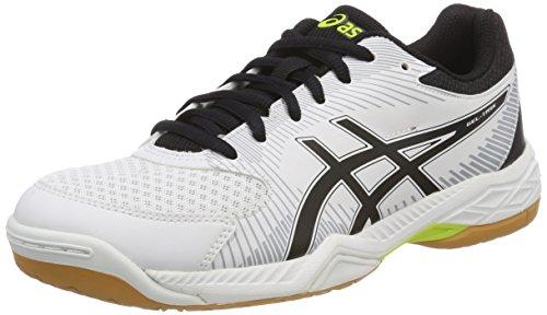 Gel Hombre mid Grey Asics Blanco Zapatillas white Para De black task Voleibol 0190 gwYqwdF