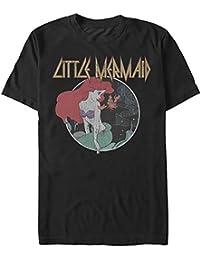 Little Mermaid Metal Rock Concert Graphic Adult T-Shirt