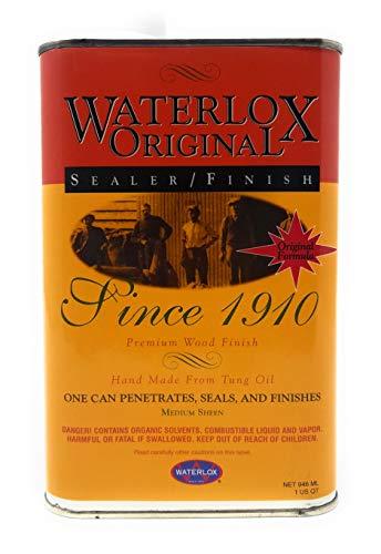 - Title: Waterlox Original Sealer/Finish for Wood, Brick, Stone, Tile & More - 1 Quart (TB 5284)