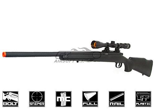 JG M70 Bolt Action Sniper Rifle (Black) (Jg Airsoft Sniper Rifle)