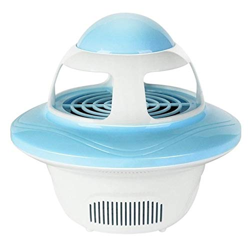 Creative UFO Shape Mosquito Killer Lamp USB Electric Fly Bug Zapper Insect Traps LED Light Trap Lamp Pest Control   bluee,