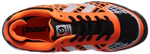 Hummel HUMMEL CELESTIAL X8 - Zapatillas deportivas para interior de material sintético Unisex adulto multicolor (Moonless Night 1514)