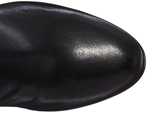 Calvin Klein Frauen Camie Engineer Boot Schwarzes Leder