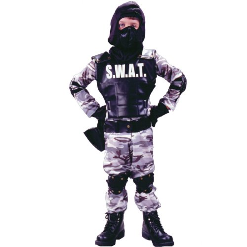 S.W.A.T. Child Costume Size Large -
