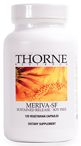Thorne Research - Meriva SF (Soy Free) - Sustained-Released Curcumin Phytosome Supplement - 120 Capsules