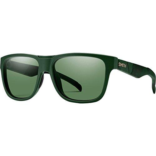 Smith Lowdown ChromaPop Sunglasses - Polarized Matte Olive Camo/Polarized Gray Green, One - Glasses Smith Agent