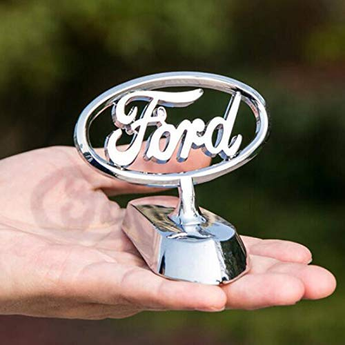 3D Car Front Cover Chrome Eagle Badge Car Cover for Auto Car Front Hood Ornament Emblems (Fit Ford)